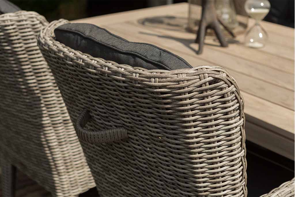Pleterna stolica Louis - detalj