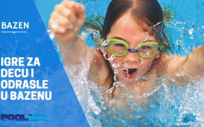 Igre u bazenu – za decu i odrasle