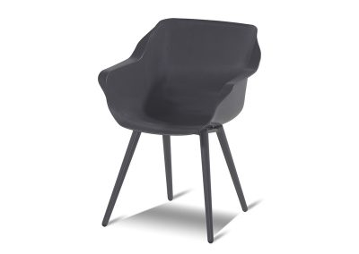 Stolica Sophie tamno siva