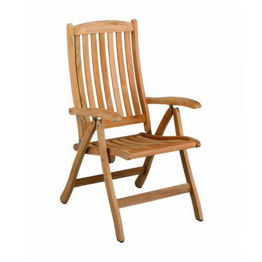 Baštenska stolica od tikovine Vancouver