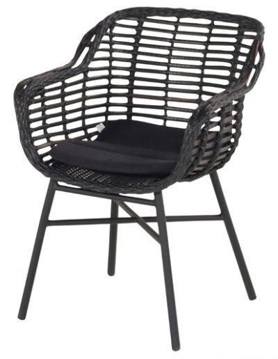 Baštenska stolica Cecilia crna (1)