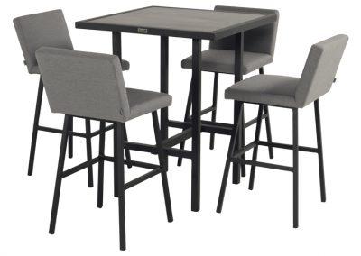 Barski sto i stolice Dennis